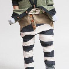captainandthegypsykid-striped leggings-Kids Fashion