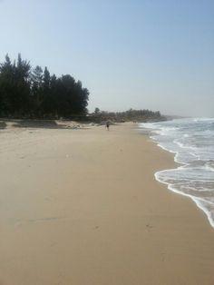 The beach at kololi