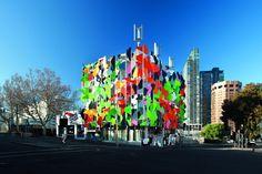 Edificio Pixel de Studio 505 en Melbourne, Australia.
