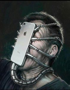 Surreal Illustrations That Depict The Horrible Truth About The Downfall Of Modern Society Social Media Art, Satirical Illustrations, Art Plastique, Surreal Art, Fantasy Art, Cool Art, Street Art, Illustration Art, Cool Stuff