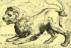 Constellation of Leo - The ruler of Leo is the Sun. The glyph is generally thought to represent the tail of the lion. In ancient Dionysian mysteries it was considered to be a phallus. It can also symbolize the heat or creative energy of the Sun. On entering the sign Leo, the Sun is said to exemplify cosmic splendor. The meaning attached to this seems to be that both the good and bad characteristics associated with Leo are perpetual.