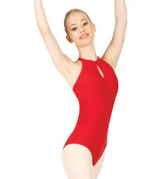 Braided Halter Leotard - Style #L2830 at Discount Dance Supply