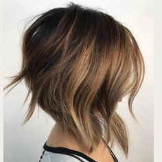 Short to Medium Hairstyles That'll Freshen Up Your Look, Stat: Graduated Long Bob