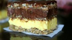 Un desert absolut delicios Tiramisu, Desserts With Biscuits, Recipe R, Romanian Food, Something Sweet, Chocolate, Bakery, Cheesecake, Deserts
