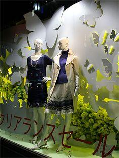 Visual: CORE Spring Window Display, Window Display Retail, Visual Display, Display Design, Merchandising Displays, Store Displays, Backdrop Frame, Clothing Store Design, Clothing Displays