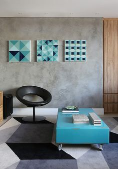 O estilo geométrico está em alta desde os anos 80, se for bem aplicado trás uma cara maravilhosa para o ambiente! Da uma passadinha na Construcon e escolha sua seleção de cores para aplicar na sua casa.