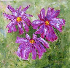 Simple Oil Paintings Of Flowers Simple flowers painting