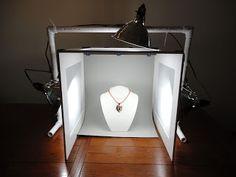 Teniendo una buena imagen Parte 1: DIY Caja de luz para la fotografía Joyería | Katrina Lum Diseños