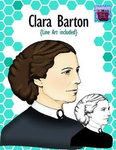 This set includes realistic clip art and line art of Clara Barton, the founder of the American Red Cross and former teacher.  Note: Each piece of clipart is carefully designed, to give the most realistic depiction of each famous person shown. (Between 7-9 hours each)   Here are more famous people clipart to check out:  Abraham Lincoln  Albert Einstein  Benjamin Franklin  Christopher Columbus  Clara Barton  George Washington  Harriet Tubman  King Ferdinand  Queen Isabella  Sitting Bull    ...