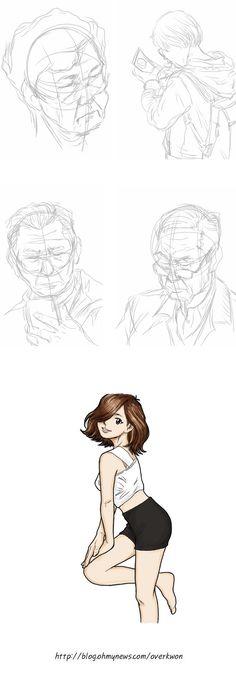 http://blog.ohmynews.com/overkwon/536422 오버권 아이패드 스케치 iPad sketch