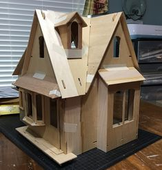 My Miniature Madness: Storybook Cottage Dollhouse