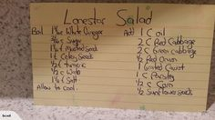 Lonestar coleslaw Vegan Dinner Recipes, Vegan Dinners, Low Carb Recipes, Cooking Recipes, Good Food, Yummy Food, Vegetable Salad, Pirate Party, Curries