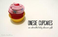 Onesie Cupcake Gift