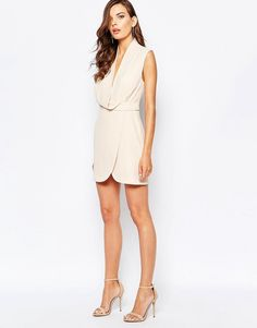 Image 4 ofFinders Keepers Dreaming Of You Dress in Nude