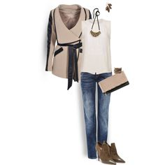 A fashion look from November 2014 featuring A.L.C. tops, Boohoo jackets and Salvatore Ferragamo ankle booties. Browse and shop related looks.