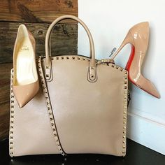 It's all about the neutrals! Shop them now on www.mymoshposh.com! #Valentino…