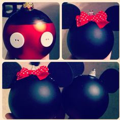 Disney ornaments!! So simple and too cute!