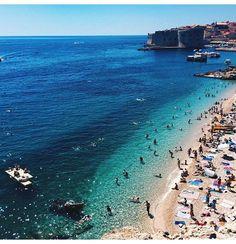 Banje beach- Dubrovnik- Croatia