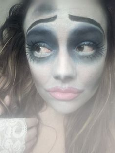 My Corpse Bride makeup - Halloween costume?