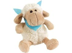 """Plush sheep """"Rosi"""" w turquois scarf Sheep, Teddy Bear, Dolls, Baby, Animals, Promotional Giveaways, Plushies, Corporate Gifts, Kids Toys"""