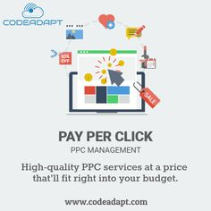 At CodeAdapt, our endeavor is to enlist ourselves into the minutest of the details in terms of offering high- quality PPC services, which doesn't fall short of our client's expectations and demands. So consider choosing Code Adapt! Digital Marketing Services, Social Media Marketing, Best Web Development Company, Seo Specialist, Best Seo, Web Design Company, Seattle Washington, Mobile Marketing, Budgeting