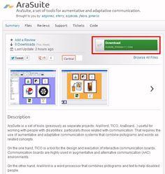 Informática para Educación Especial: Disponible la nueva suite de herramientas para la comunicación AraSuite, que incluye Proyecto TICO y Ar... Apps, Summary, Bring It On, Coding, Blog, Tools, Teacher Education, Speech Therapy, Speech And Language