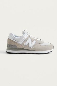 separation shoes bff53 0f2ec New Balance WL 574 Off-White Trainers