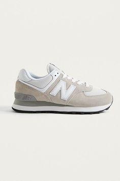 separation shoes 46e78 e770f New Balance WL 574 Off-White Trainers