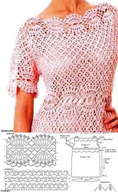 Fabulous Crochet a Little Black Crochet Dress Ideas. Georgeous Crochet a Little Black Crochet Dress Ideas. Débardeurs Au Crochet, Mode Crochet, Crochet Woman, Crochet Stitches, Easy Crochet, Crochet Cardigan Pattern, Crochet Blouse, Crochet Patterns, Blanket Patterns
