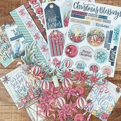 """Make-in-Wonder on Instagram: """"Some more preparation for my Christmas Countdown mini album! - 1) The 'tis the season minipack from @celebr8_crafts has six pages with…"""" Circle Punch, Christmas Countdown, Tis The Season, Mini Albums, Reindeer, Merry, Seasons, How To Make, Gifts"""