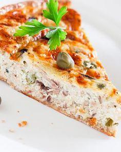 Recettes pas chères : Tarte au thon et au fromage frais