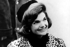 Jackie flashes the'Kennedy smile' whilst on the 1960 campaign trail.