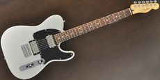 FENDER / Black Top Telecaster HH Silver Rose Guitar Free Shipping! δ