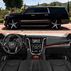 """@cadillac  Escalade on 26"""" R-Four  Tag a friend who would like this  #Lexani…"""