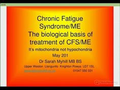 Excellent presentation of the theory & supporting scientific data that CFS/ME is a mitochondrial disease.