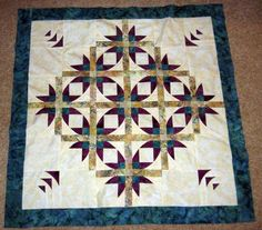 Pictures of Star Quilts : Mexican Star Quilt