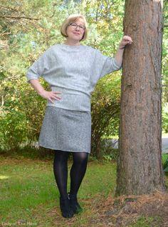 Syksyn vaatteissa harmaa on hyvä väri