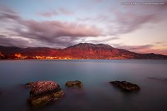 red, sunset, greece, clouds, movement, long, mountain, long exposure, slow speed, messinia, kalamata, its_me, kalathi