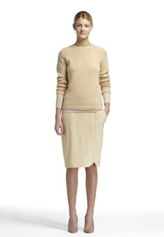 Look 3 Fall 2013 #fall #winter #fashion #design #style #cashmere