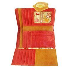 Cirque du Soleil Categena Tri-fold Red Wallet | Cirque du Soleil Online Store