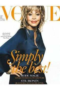 Tina Turner at 73! Love her.