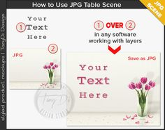 White Table Styling Pink Tulips Gold by TanyDiDesignStudio on Etsy