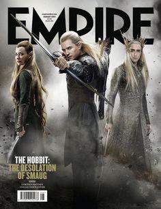 Waiting!!! / O Hobbit – A Desolação de Smaug vira capa da Empire