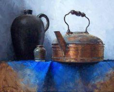 Pintura a óleo de David Cheifetz