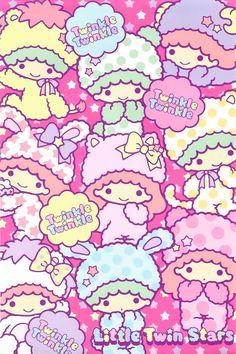Sanrio Little Twin Stars       #cute #kawaii #sanrio #twinstars #illustration