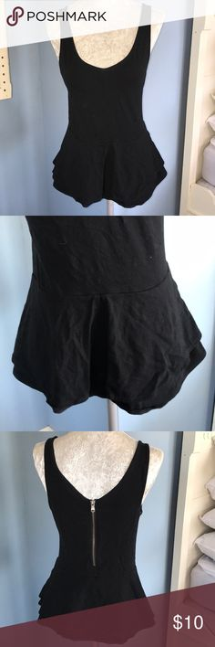 Black peplum top Black peplum top Express Tops Tank Tops