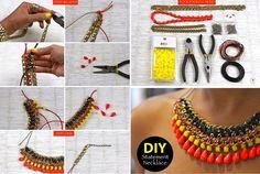 DIY collar etnico                                                       …