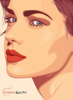 New Pop Art Painting Faces Portraits Behance 63 Ideas Art And Illustration, Fashion Illustration Tutorial, Portrait Illustration, Graphic Design Illustration, Fashion Illustrations, Portrait Vector, Digital Portrait, Portrait Art, Digital Art