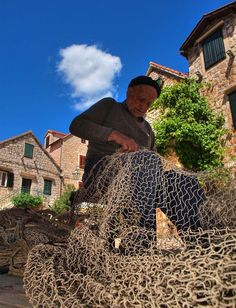 99 year old fisherman   Photo by Petar Botteri — National Geographic Your Shot