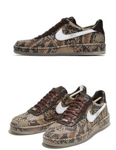Nike Air Force 1 Downtown Python Sneaker So cool! Nike Shoes Blue, Nike Air Shoes, On Shoes, Me Too Shoes, Shoe Boots, Sneakers Nike, Zapatos Nike Jordan, Zapatos Nike Air, Air Force One Shoes